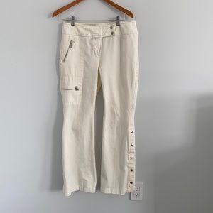 Michael Michael Kors wide leg pants cream